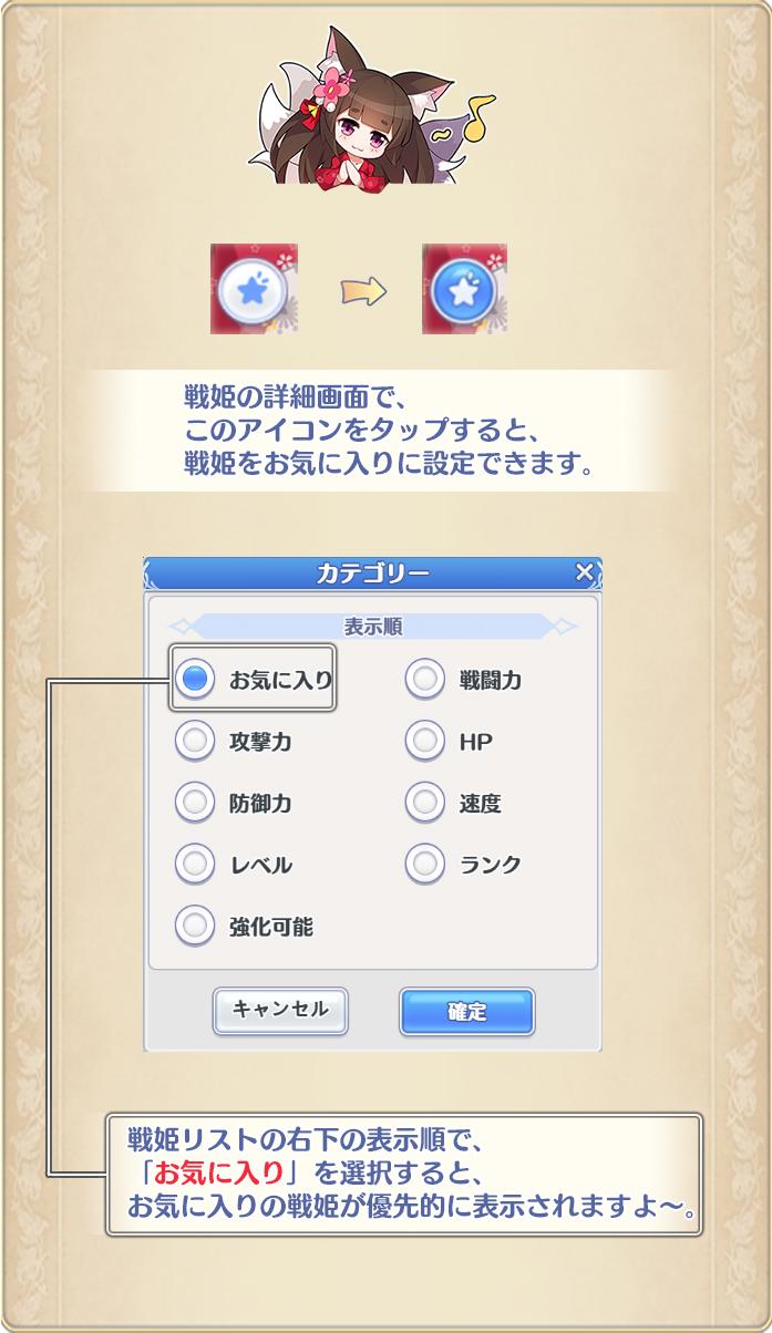 姫 試練 戦 ガールズ バトル 2